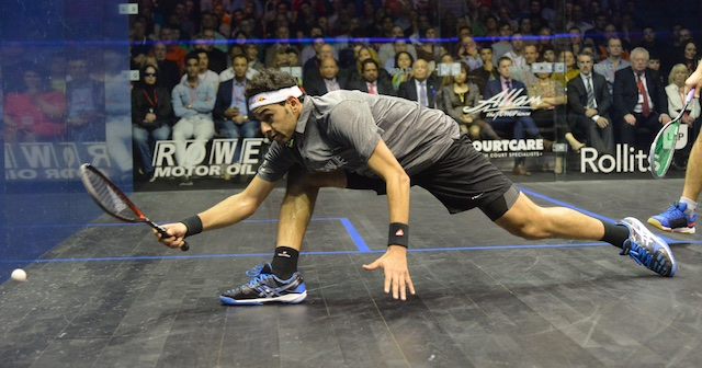 Top seed Mohamed Elshorbagy