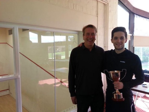 Dulwich men's champion Ben Coleman