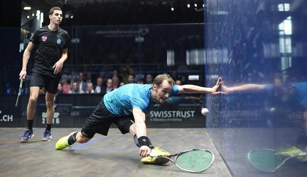 Gregory Gaultier in action in Zurich