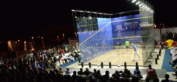 The El Gouna venue: Amazingly, no images have been supplied by the tournament