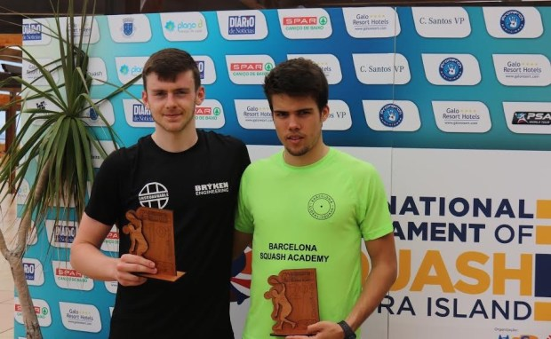Madeira champion Patrick Rooney (left) and runner-up