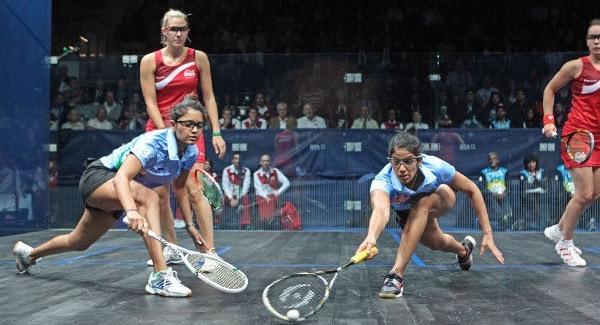 Dipika Pallikal and Joshna Chinappa win gold for India in Glasgow