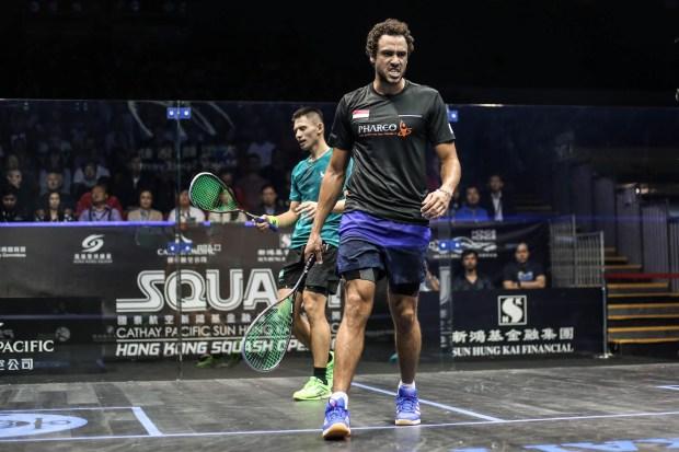 Ramy Ashour halts home hope Max Lee to reach the Hong Kong final
