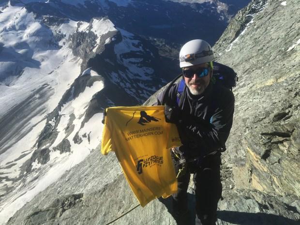 Paul Main on the Matterhorn