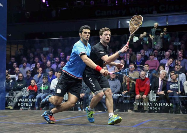 Huge win by Mathieu Castagnet over Omar Mosaad in the 2016 final