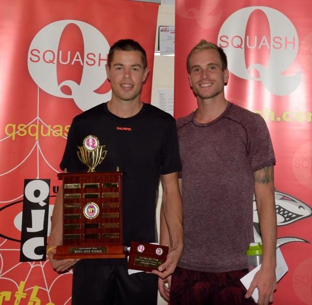 Zac Alexander (left) and Josh Larkin