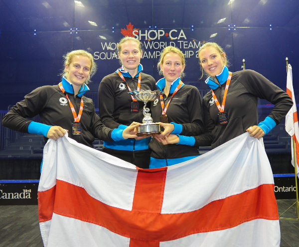 Reigning champions England off to a winning start