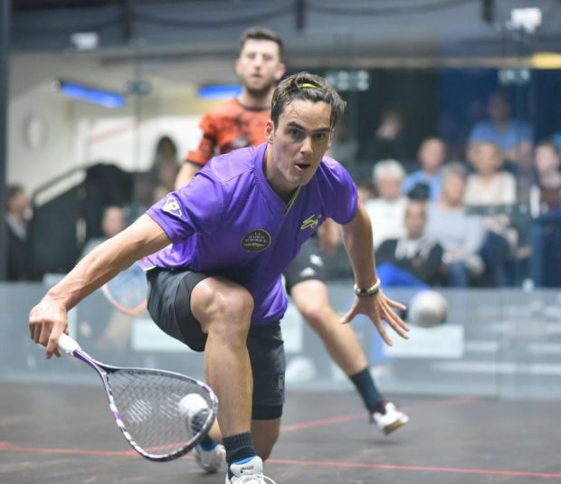 Paul Coll attacks against Daryl Selby