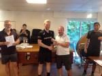 Joel Makin Trophy Presentation with Darren Roe