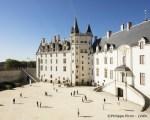 Cour du Chateau des Ducs de Bretagne