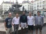 Squash Travel Tour Group Dec James