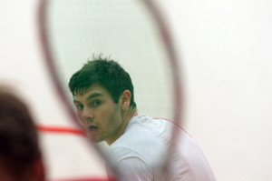 Top seed Adrian Waller. Picture by KIM ROBERTS