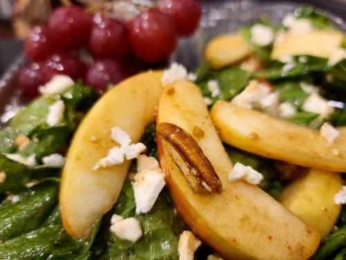 Baby Organic Spinach Salad