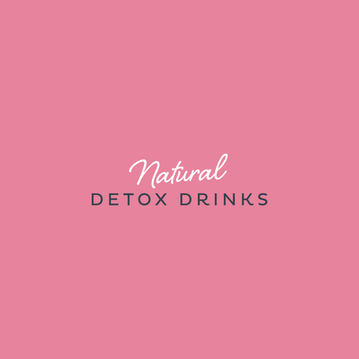 Natural Detox Drinks