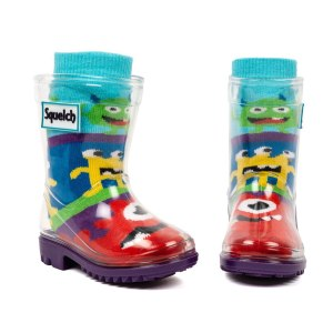 Squelch Wellies Monster Sock