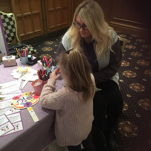 Event Nannies at Queens Hotel, Chester Sunday 28 January 2018