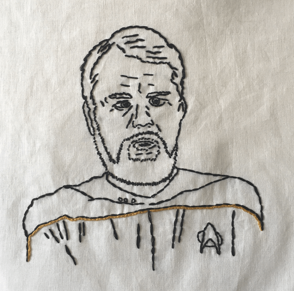 hand_embroidered_portrait_lt_commander_argyle_engineer_star_trek_next_generation