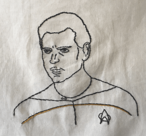 hand_embroidered_portrait_lt_logan_enginner_star_trek_next_generation