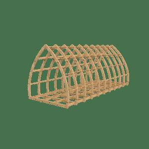 Gothic Glamping Pod Frame Kit 3600mm x 2400mm