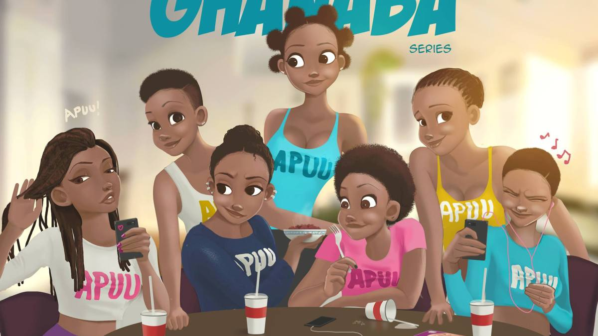 Painting the Days –  These are Creo's 7 Ghanaian Goddesses