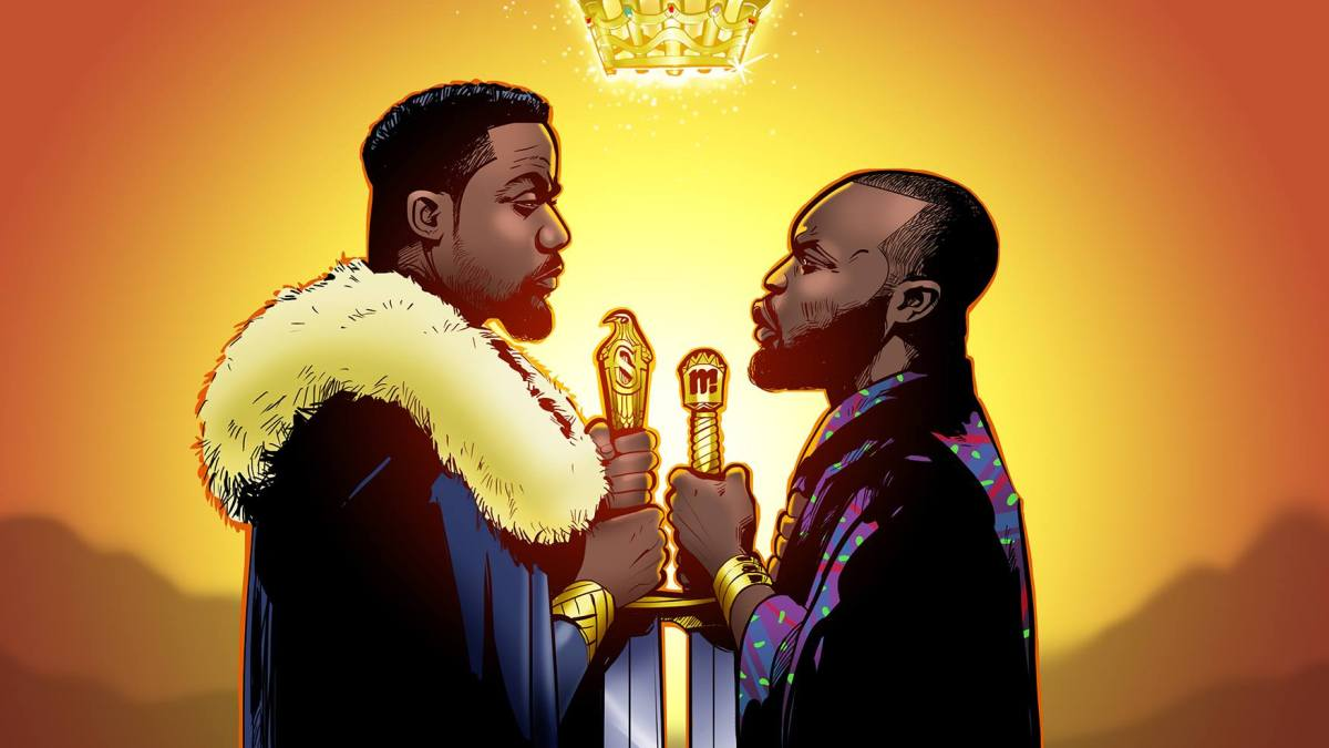 Kings and Gods – Ghanaian Illustrators' Take on The Rap Beef of 2016