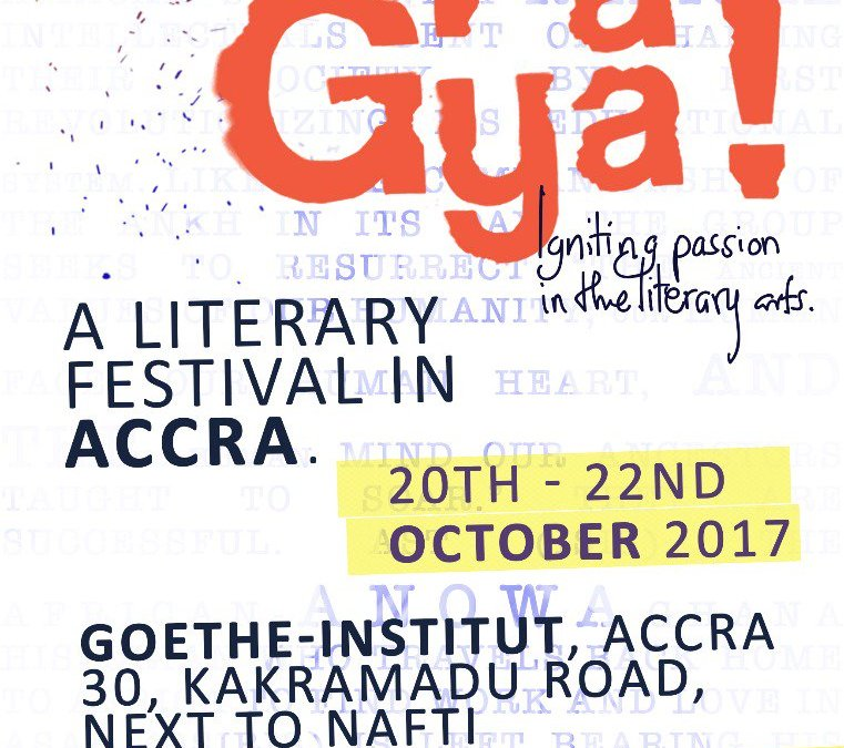 Ghanaian Comics at Pa Gya! A Literary Festival In Accra