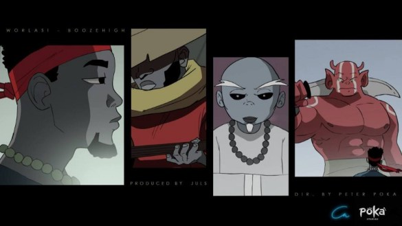 booze High animated music video worlasi poka
