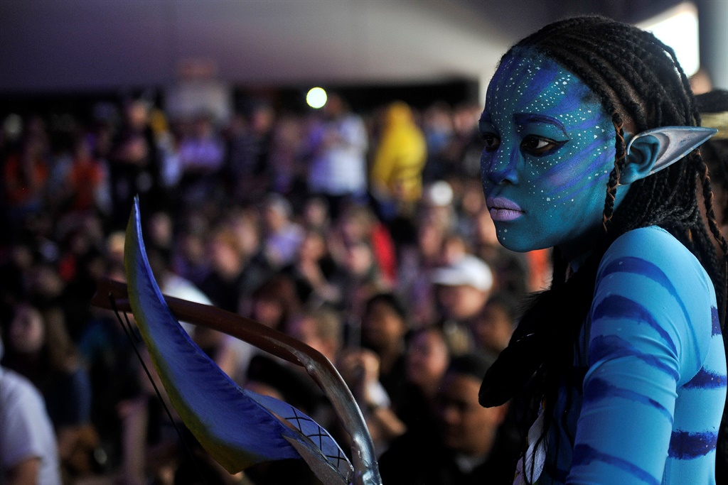 Photo of Neytiri from Avatar Cosplay at comic con africa