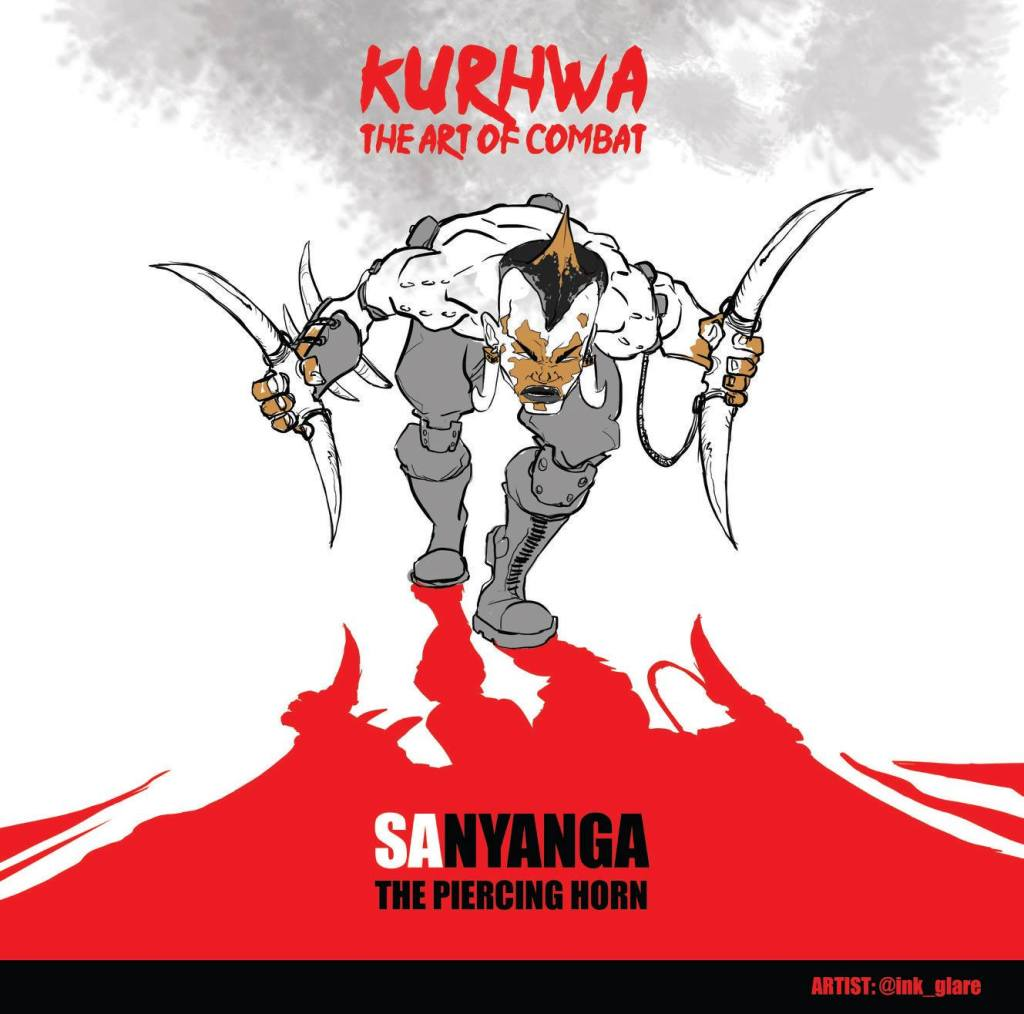 Sanyanga, a character from Kurhwa the Art of Combat by CCX Comics