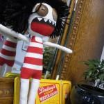 office zombie doll ( ...of doom!) It lives! ...yet it is dead.