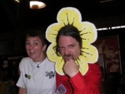 me & bob the angry flower!