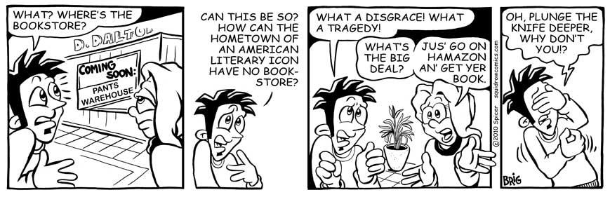 No Bookstore