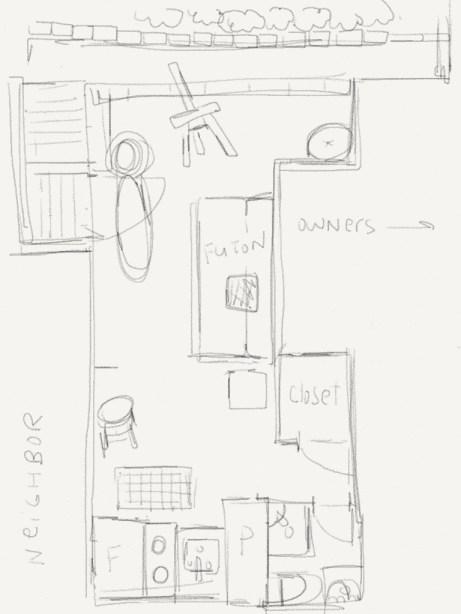 randie's apartment