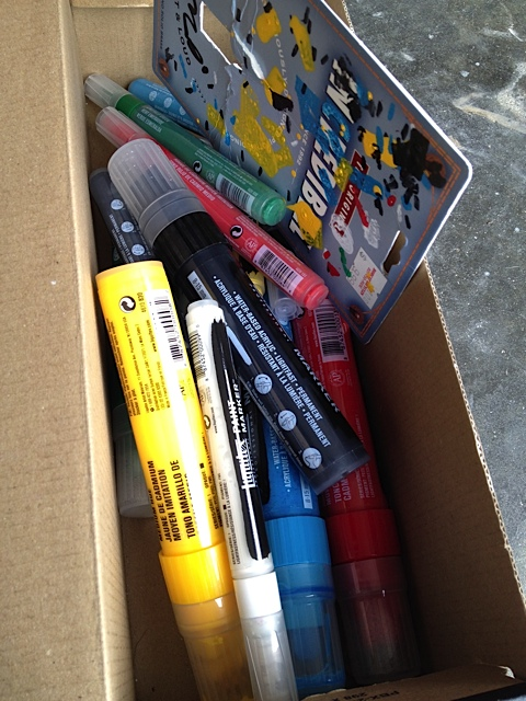 These babies have been a fun addition to my painting supplies.