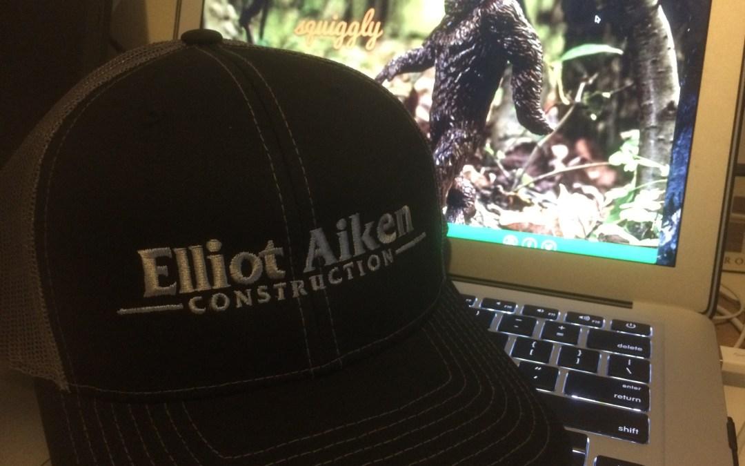 Trucker Style Hat For Elliot Aiken Construction