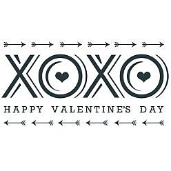 Happy Valentines Day Word Art