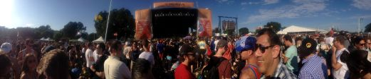 View of the Honda Stage