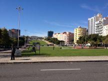 A beautiful park in Lisbon