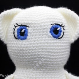 Amigurumi Face Stitch : How to Add Faces to Your Amigurumi: Satin Stitch ...