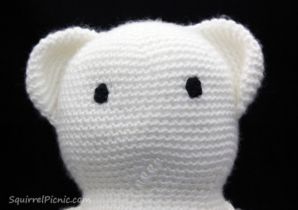 How to Add Faces to Your Amigurumi: Satin Stitch ...