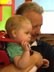 Poppa and Fee at the Arcade