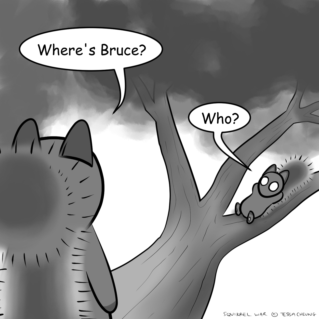 Bruce's Tale: Part V – Brother, Dear Brother