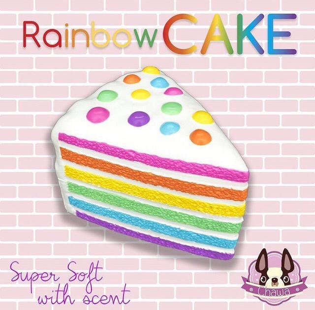 Chawa Rainbow Cake - Squishy Japan