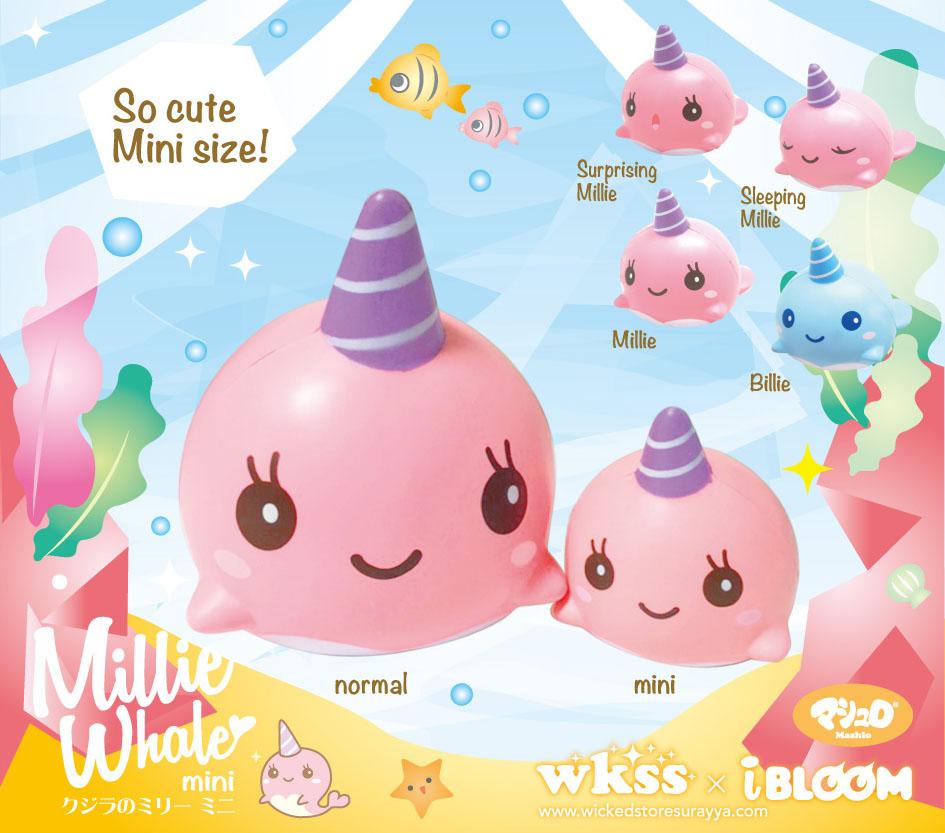 Mini Millie Whale