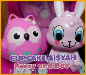 Cupcake Aisyah Percy And Boo