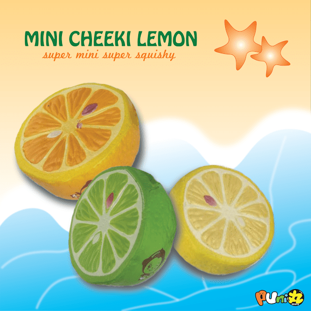 PuniMaru – Mini Cheeki Lemon