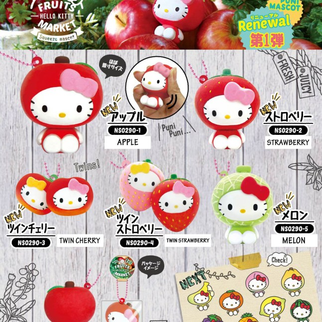 New Item Creative – Hello Kitty Fruit Market