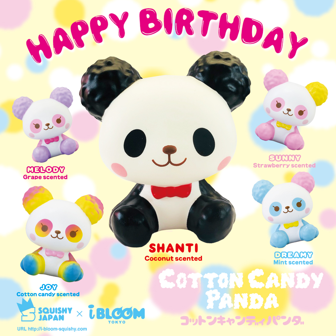 IBloom – Cotton Candy Panda