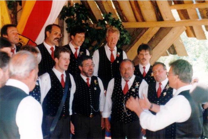 Georg Forster wird Chorleiter