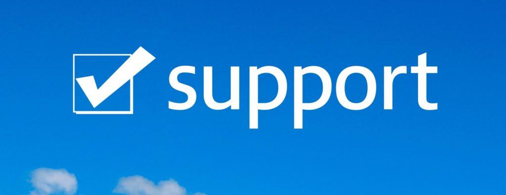 無料サポートのイメージ